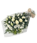 Sympathy Bouquet  Whites