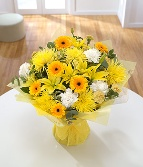Golden Sunshine Hand tied