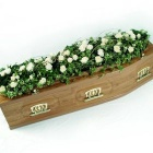 Rose and Ivy Casket Spray