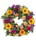 Wreath  Bright Colours