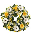 Wreath  Yellows